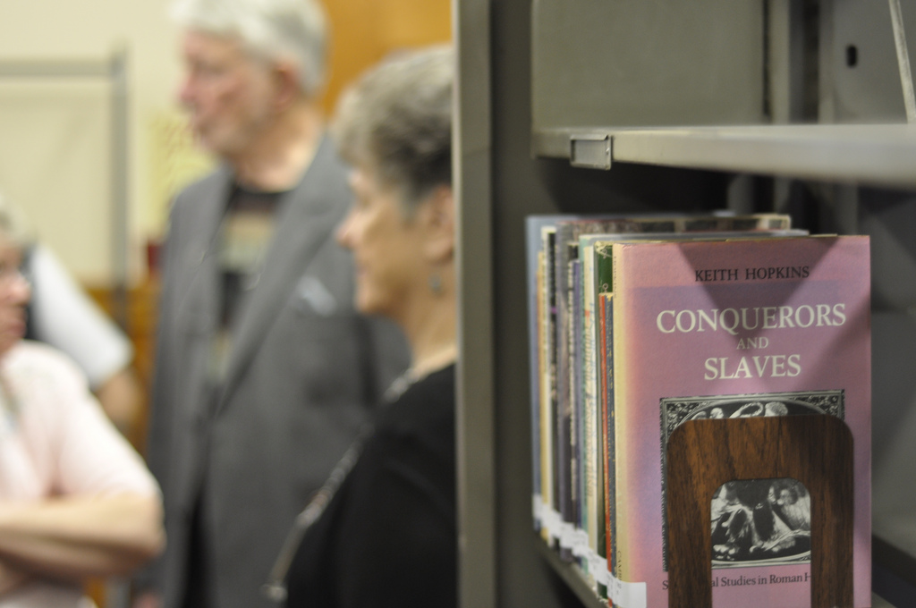 Opening the library